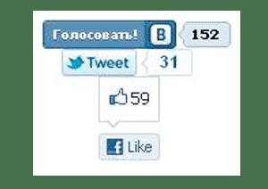 накрутка голосов в соц сетях на примере виджетов
